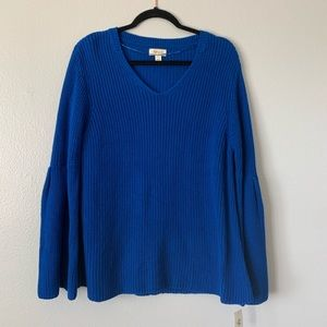 Style & Co Royal Blue Sweater